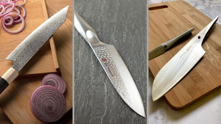 I coltelli santoku dei top chef in cucina