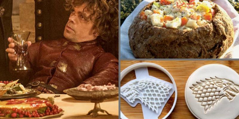 A tavola con GAME OF THRONES: gli utensili e il libro di ricette ❄️⚔️❄️!