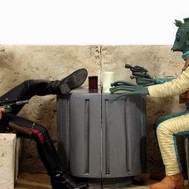 Ferma Libri Han E Greedo Star Wars