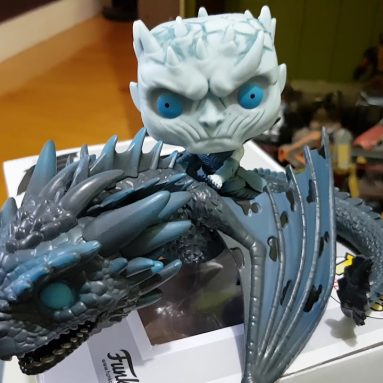 Action Figures Knight King E Viserion