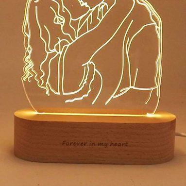 Lampada Led Personalizzata Da Foto