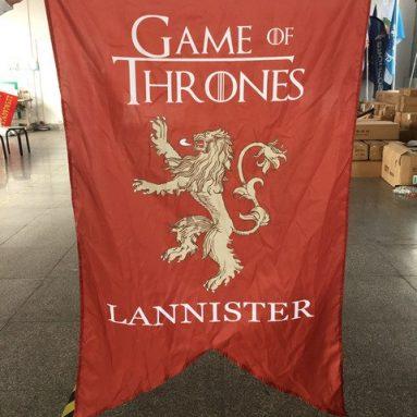 Bandiera Stemma Casa Lannister