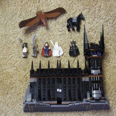 Il Signore Degli Anelli Lego Battaglia Al Nero Cancello
