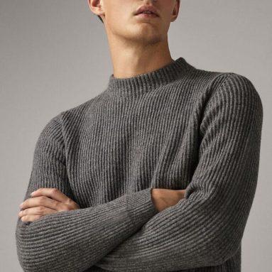 Maglione In Cachemere Per Uomo