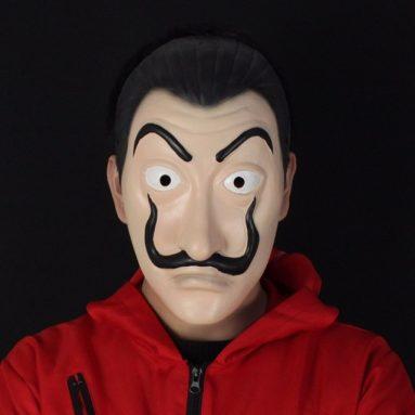 Maschera Salvador Dal Casa Di Carta