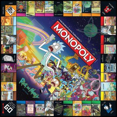 Monopoly Di Rick & Morty