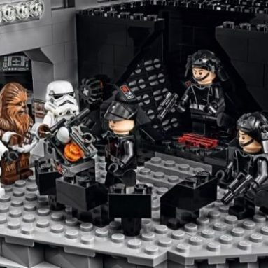 Morte Nera Di Lego Star Wars