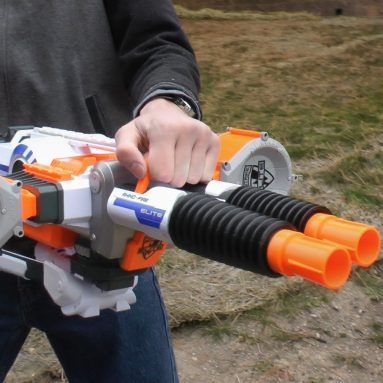 Blaster Nerf A Doppia Canna