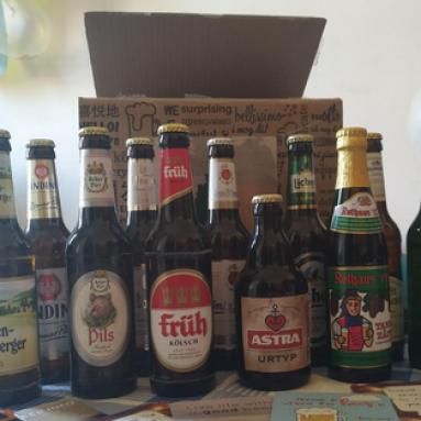 Scatola Regalo Birre Tedesche