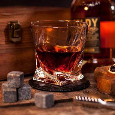 Set Bicchieri E Pietre Whisky