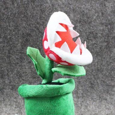 Peluche Pianta Piranha Di Super Mario