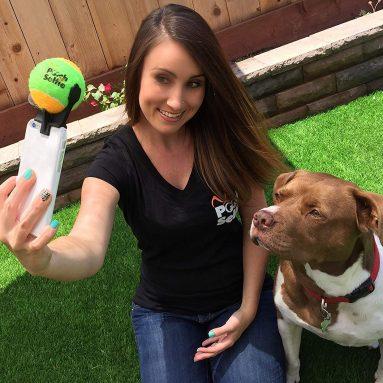 Pallina Selfie Stick Per Cani