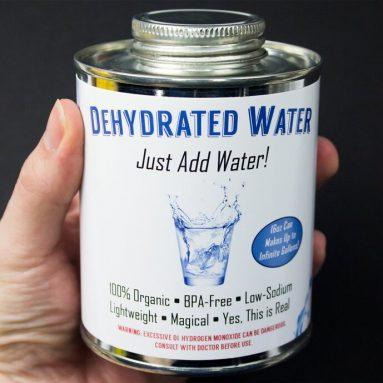 Barattolo Di Acqua Disidratata