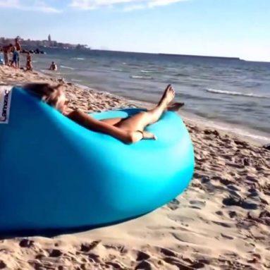 Lettino Gonfiabile Da Spiaggia