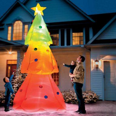 Albero Di Natale Gonfiabile Gigante