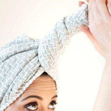 Asciugamano Turbante Alto Assorbimento