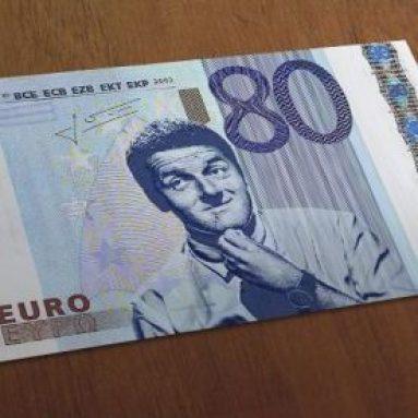 Banconota 80۠Di Renzi