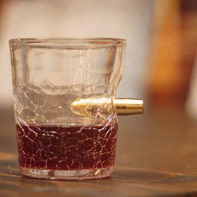 Bicchiere Shot Con Proiettile