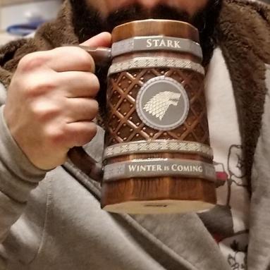 Boccale Birra Casa Stark