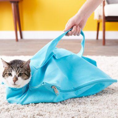 Sacco Con Zip Per Trasporto Gatto