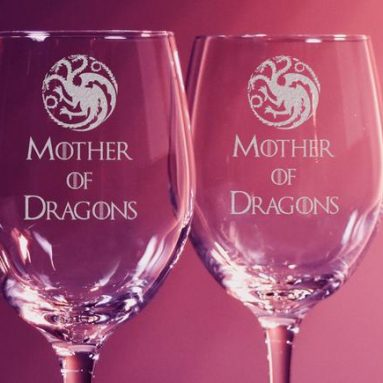 Calice Vino Mother Of Dragons