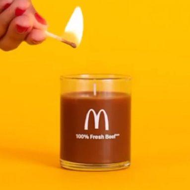 Candela profumata Gusto McDonald's