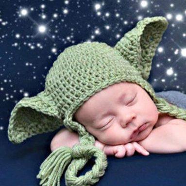 Cappello Neonato Baby Yoda