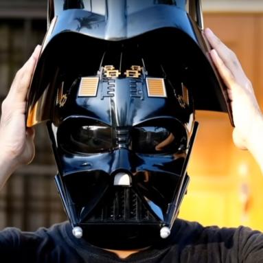 Casco Elettronico Darth Vader