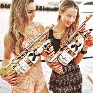 Pistola Spara Champagne