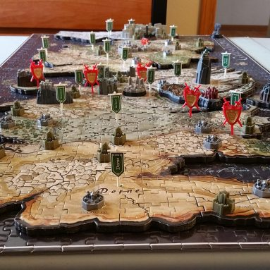 Puzzle Mappa Westeros In 4D