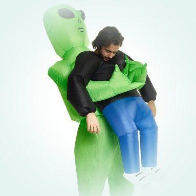 Costume Gonfiabile Rapimento Alieno