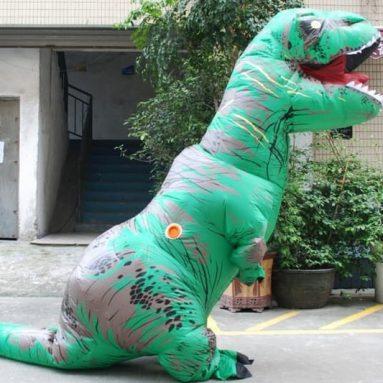 Costume T-Rex Gonfiabile Colorato