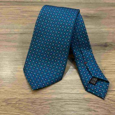 Cravatta In Seta Fatta A Mano