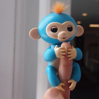 Scimmietta Robotica Da Dito