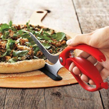 Forbici Taglia Pizza Con Guida