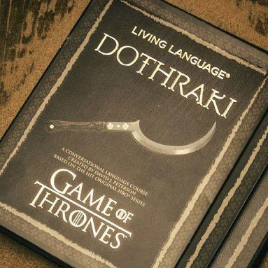 Vocabolario Dothraki