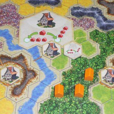 Gioco Da Tavolo Strategico Kingdom Builder