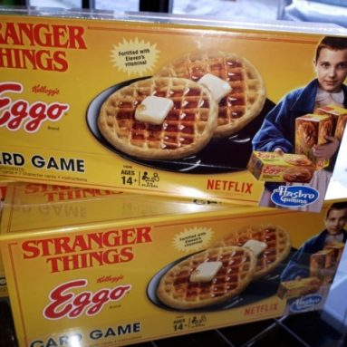 Gioco Di Carte Eggo Stranger Things