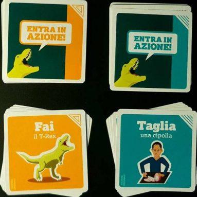 Gioco Di Mimo Da Uno A T-Rex