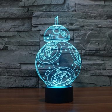 Lampada Led Bb8 Star Wars