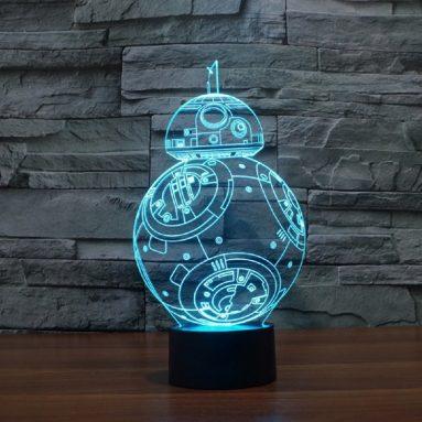 Lampada Led Bb8 Star Wars