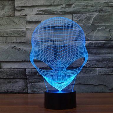 Lampada Alieno 3D