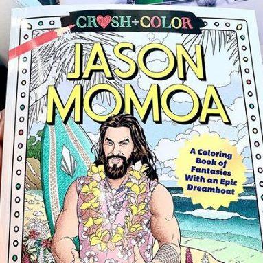 Libro Da Colorare Di Jason Momoa