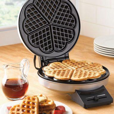 Macchina Waffle A Forma Di Cuore
