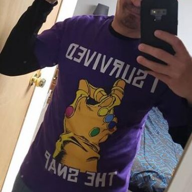 T-Shirt Snap Thanos