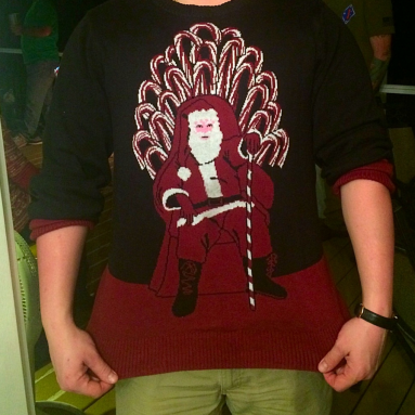 Maglione Brutto Candy Cane Thrones