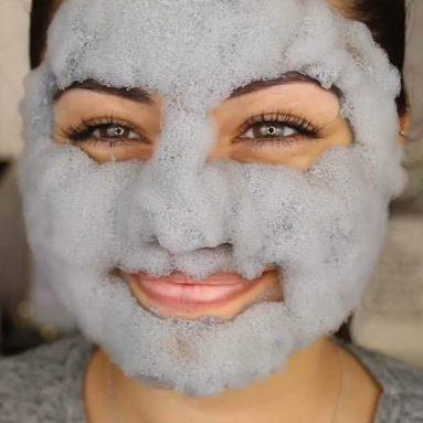 Maschera Bolle Di Argilla