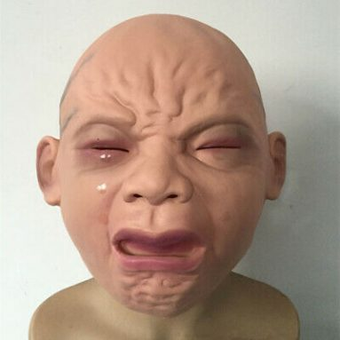 Maschera Neonato Horror