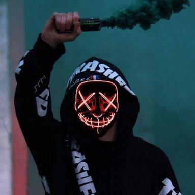Maschera Led Halloween
