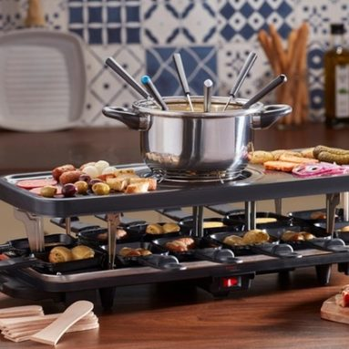 Mega Raclette Fonduta Piastra